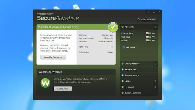 Webroot SecurityAnywhere Antivirus