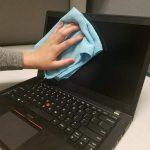 Cómo limpiar la pantalla de tu ordenador portátil