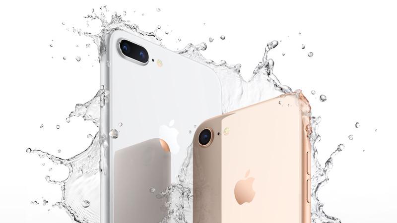 iPhone X y el iPhone 8