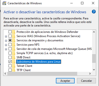 Cómo instalar Ubuntu en Windows 10