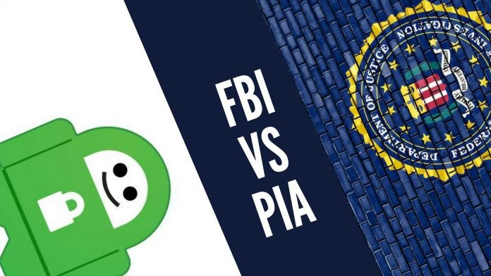Private Internet Access contra el FBI