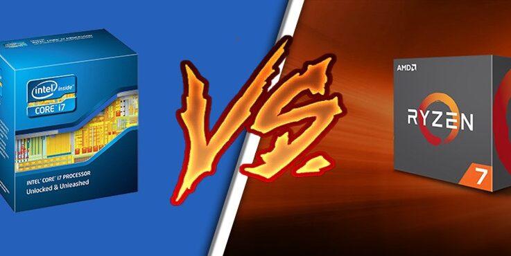 AMD Ryzen 7 Vs i7: ¿Cual es mejor?