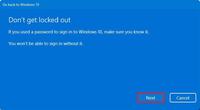 Desinstalar Windows 11