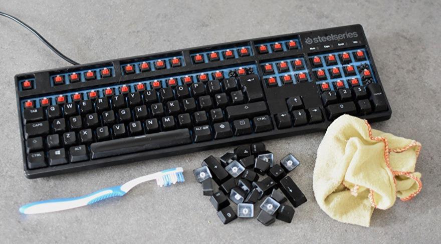 limpiar tu teclado